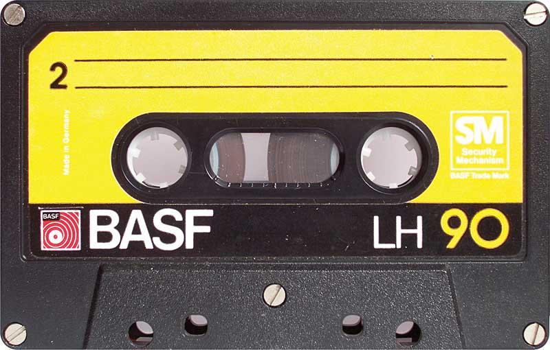 Ljudkassett - museiföremål och princip för dagens ersättning till upphovsrättshavare.